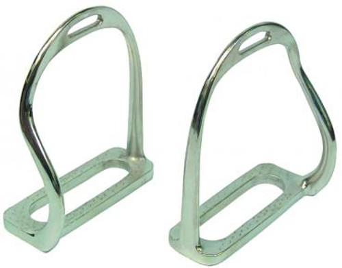Safety Stirrup Irons (Nickel Plated)