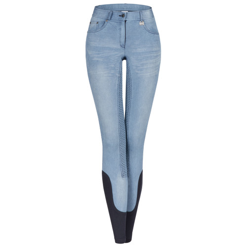 CLEARANCE: ELT Hope Denim Ladies Breeches - Size 46 (18)