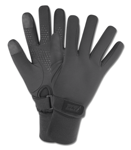 CLEARANCE: ELT Winter Snow Riding Gloves (Black)