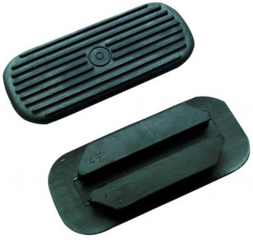 Rubber Stirrup Treads Black
