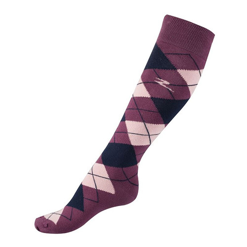 Horze Alana Checked Horse Riding Socks