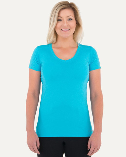 Noble Outfitters Karleigh Short Sleeve V-Neck Sports Tee