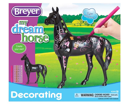 BREYER ACTIVITY DECORATE YOUR HORSE - R
