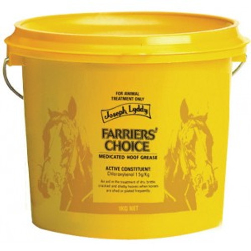 Joseph Lyddy Farriers Choice Medicated Hoof Grease 1kg