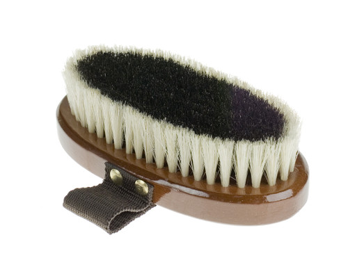 Horze Natural Body Brush Small (Wood Backed)