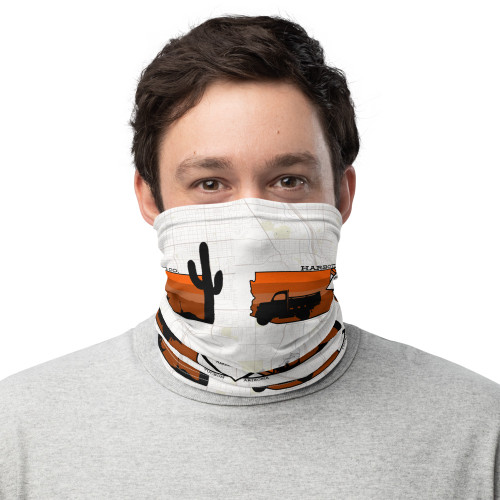 All-Over No Trabajes Tanto Neck Gaiter