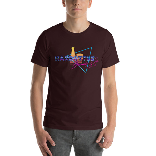 80s Harbottle Logo Short-Sleeve Unisex T-Shirt