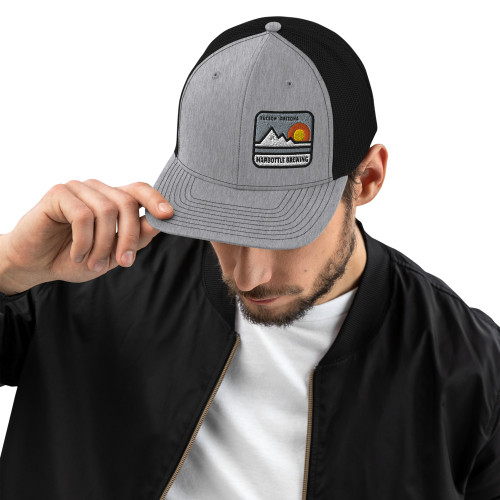 "Harbottle ""A"" Mountain Trucker Cap"