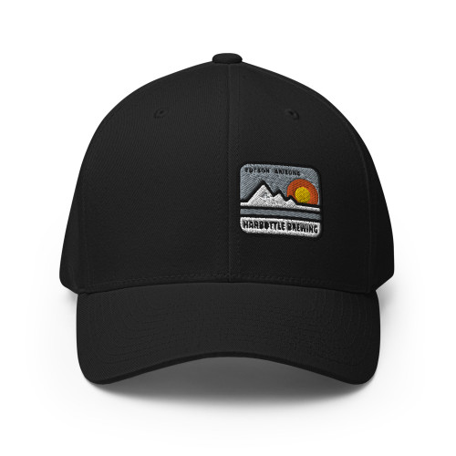 A Mountain Fitted Hat