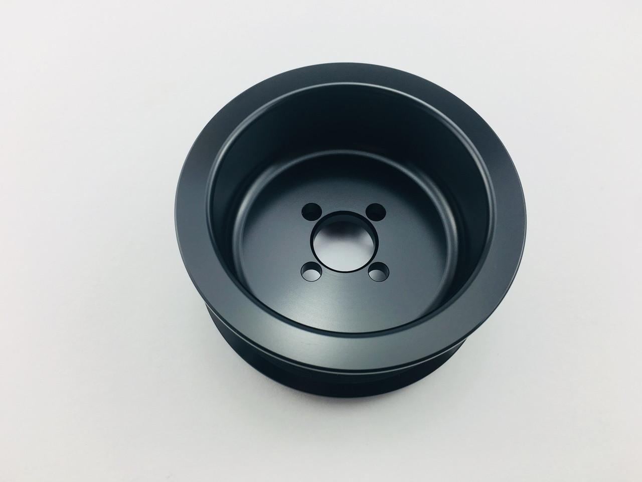 """3.65"""" 8 Rib C7 Offset Whipple 2.9L GripTec® L3 Black"""
