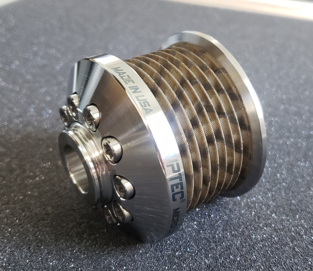 "ZPE MKII LSA Pulley & HUB Ø 2.35"" Stainless GripTec®"