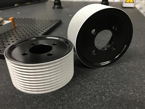 3.25 GripTec® micro rear TVS Jack Shaft Pulley set.