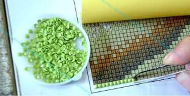 Mini Mosaic Kit (Set 4): Yellow Flowers 20 x 40cms x 4 panels(KMM4FLOW)