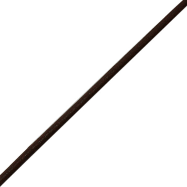 Cowhide Leather Cord Round .8mm Brown (1m)