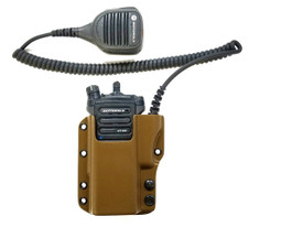Coyote Brown Motorola® APX Radio Carrier (Low Cut Speaker Cutout) (Available for the APX 6000, 7000, 8000, and 8500 radios only)