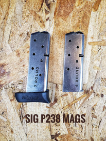 *** New***  P238 7RD .380ACP EXTENDED MAGAZINE