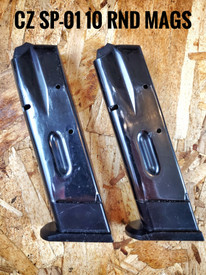 *** Used *** CZ 75 9mm Full Size 10 Round Magazine. Price is per each