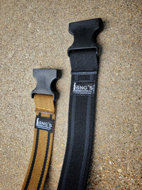 The Long's Shadow Adjustable Leg Strap, Black and Coyote Brown