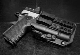 Staccato® P DUO with Surefire® X300 Ultra Trijicon® RMR Front