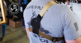 Antero Chest Harness Only (holster not included, see Antero Holster to order complete kit)