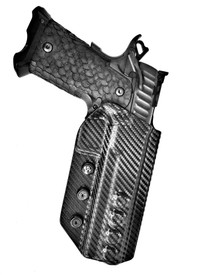 "STI International®  DVC 3 (3-Gun 5.5"") Huron, SRA Cut, Black Carbon Fiber"