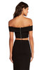 Alyce 22107 short two piece dress with a zip up back