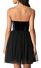 Alyce 22101 short skater dress with a zip up back