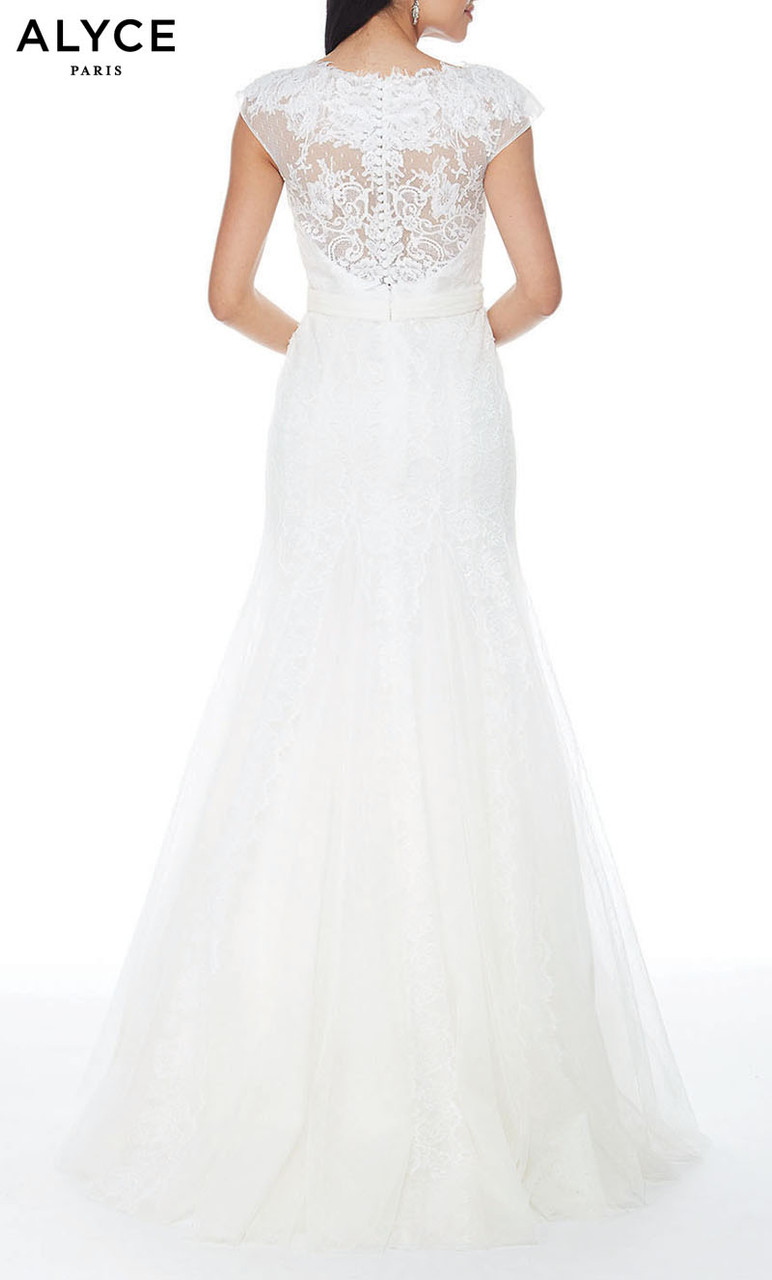 Alyce Paris Formal Dress: 27155. Long, Illusion Neckline, Medium ...