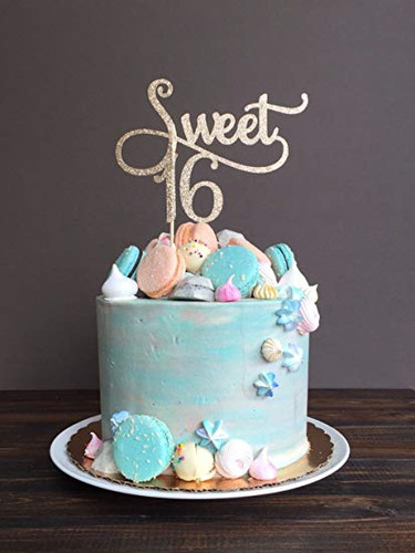 Pleasing 16 Beautiful Sweet 16 Cakes Alyce Paris Personalised Birthday Cards Veneteletsinfo
