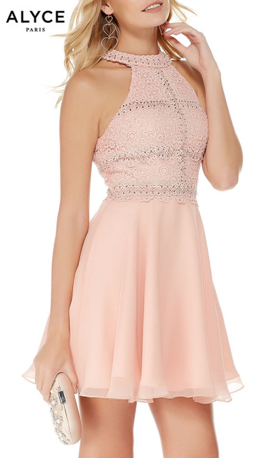 Formal Dress: 2660. Long, V-Neck, Flowy, V Shaped Back