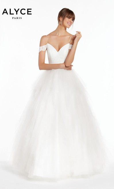 Formal Dress: 7001. Long, Off The Shoulder, Ballgown