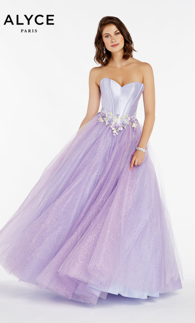 Formal Dress: 60363. Long, Sweetheart Neckline, Ballgown