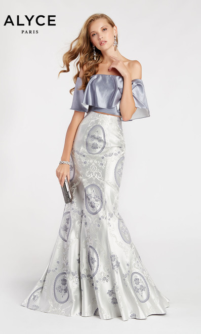 Formal Dress: 60336. Long, Off The Shoulder, Mermaid