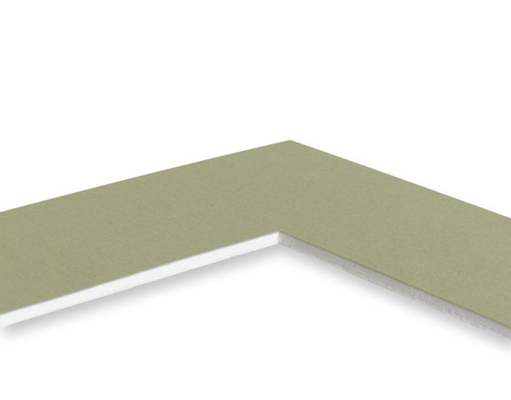 8x10 Single 25 Pack (Standard Whitecore) - includes mats, backing, sleeves and tape!