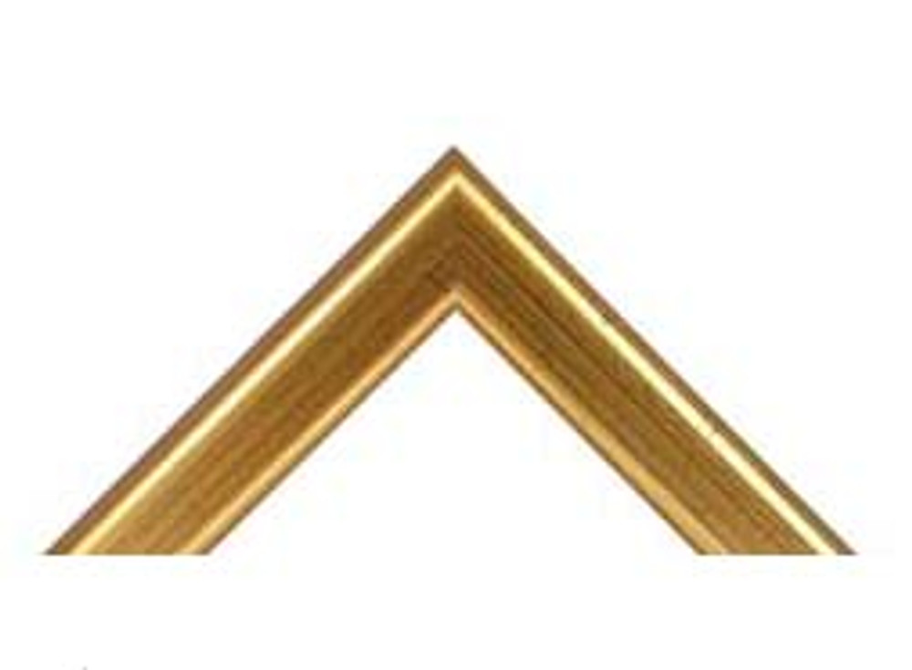 "7/8"" Gold Wood Frame (#MS 365)"