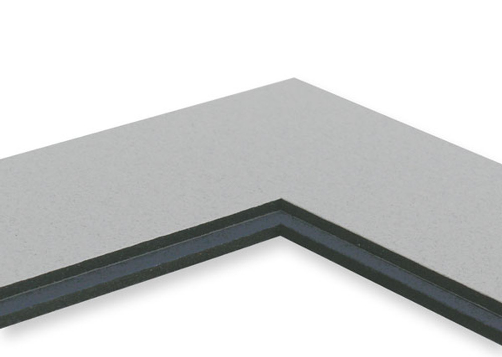 11 x 14 Single Black Core Mats (Pak of 25)