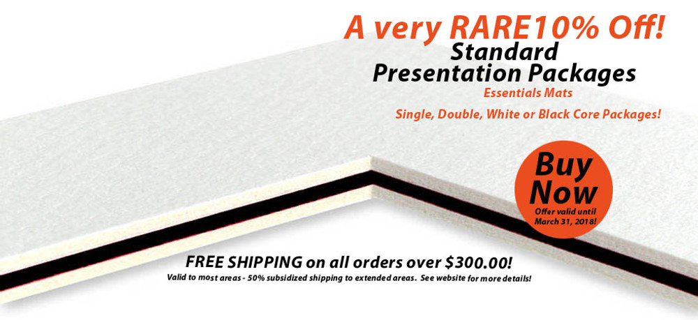How to get the very best presentation of your artwork at a great value!