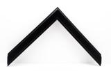 """3/4"""" Black Wood Frame (#MS 350)"""