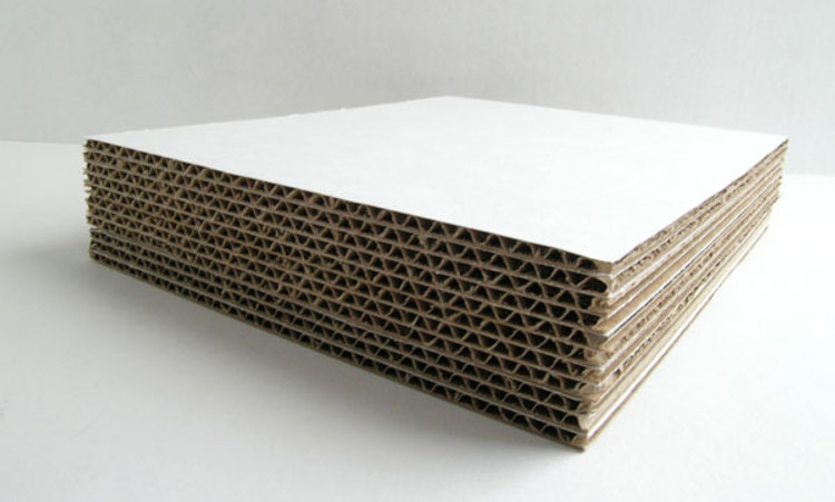 White Cardboard Backing