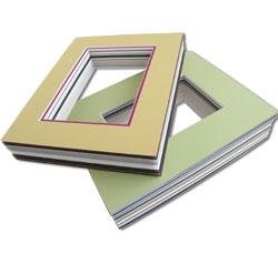 pre-cut mat packages