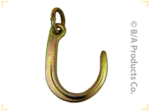 8″ Forged J Hook + Link