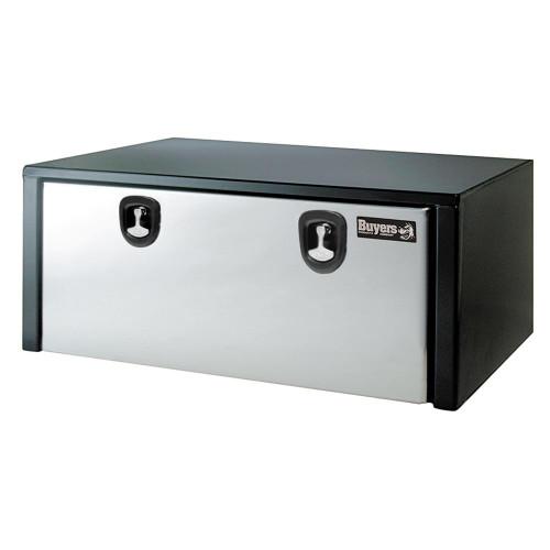 """60"""" Steel Toolbox w/ Stainless Steel Door"""
