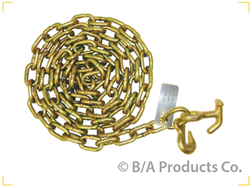 8' Safety Chain + Grab Hook + Hammerhead