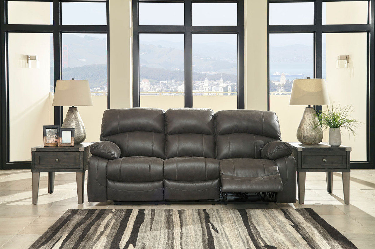 Wondrous The Dunwell Steel Power Reclining Sofa With Adjustable Onthecornerstone Fun Painted Chair Ideas Images Onthecornerstoneorg