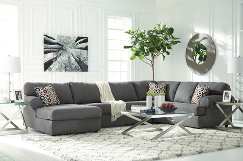 Awe Inspiring The Braxlin Charcoal Sofa Chaise 2 Coylin End Tables Onthecornerstone Fun Painted Chair Ideas Images Onthecornerstoneorg