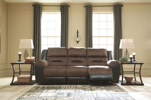 The Boxberg Bark Reclining Power Sofa Available At Furniture Plus