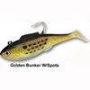 "Tsunami Lures Deep Heavy Shad 5"" 3 oz 2/Pack (Golden Bunker)"