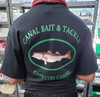 Canal Bait Tee Shirt Black XL Extra Large