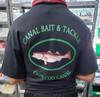 Canal Bait Tee Shirt Black XXL Double Extra Large