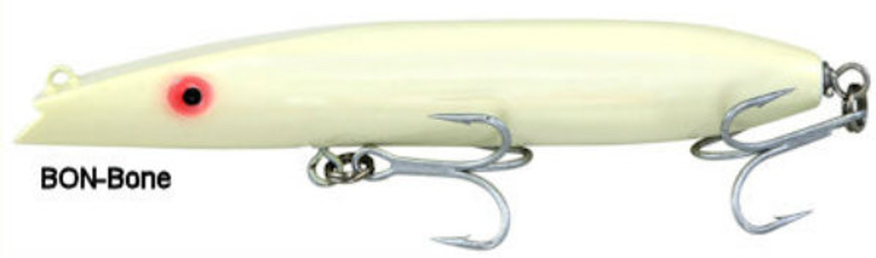 "Super Strike Lures Zig Zag Darter Bone 6 5/8"" 2 3/8 oz"